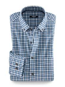 Flanell-Hemd Cashmere Blend