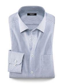 Walbusch Masterclass Herren Hemd Masterclass Vollzwirn Hemd