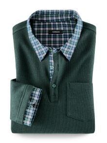 Hemd-Pullover 2 in 1