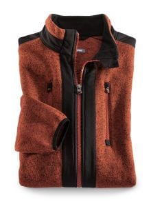Klepper Strickfleece-Jacke