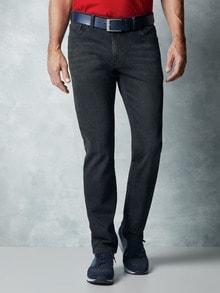 Jeans in Tiefbundschnitt, Farbe blau Blue