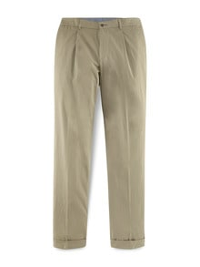 Pima-Chino Cashmere Finish Beige Detail 1