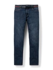 Gürtel-Jeans Modern Fit Dark Blue Detail 1