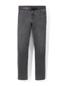 Gürtel-Jeans