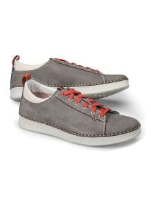 Nubuk-Sneaker Handnaht