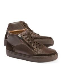 Hirschleder-Sneaker High Top