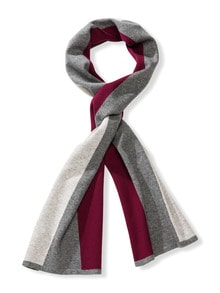 3-Farben-Schal