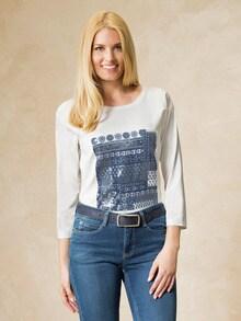 Shirt Patchwork-Rive Gauche