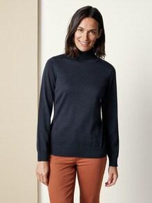 Exquisit Rollkragen-Pullover