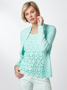 Twinset Tunis Mint Detail 1