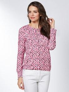 Blouson-Shirt Blütentraum