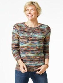 Alpaka Pullover Farbverlauf