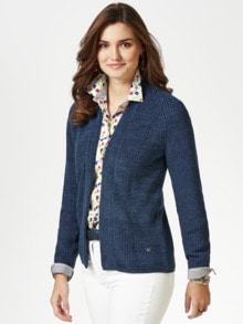 Patent Strickjacke