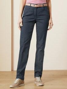 Jacquard-Jeans