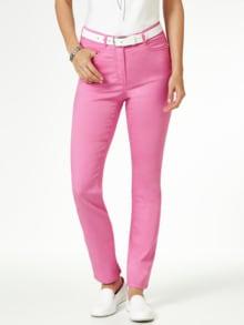 Yoga Jeans Ultraplus Pink Detail 1