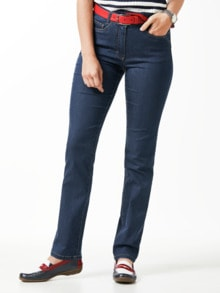 Yoga-Jeans Ultraplus Feminine Fit Blue Stoned Detail 1