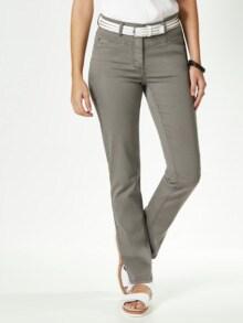 Powerstretch Jeans Khaki Detail 1