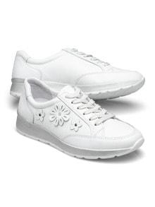 Sneaker Blumen-Dekor
