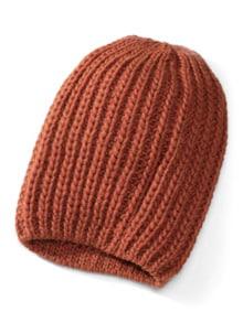 Rippenstrick Mütze
