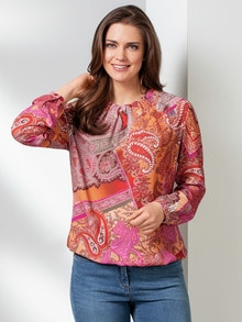 Shirtbluse Farbenpracht