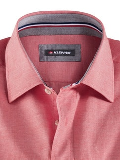 Klepper Multi-Taschenhemd Rot Detail 4
