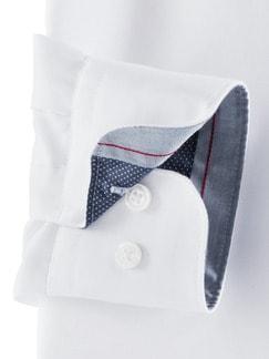 Extraglatt-Hemd High Class Weiß Detail 4