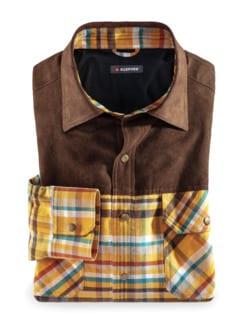 Klepper Touringhemd Cotton Gelb Detail 1