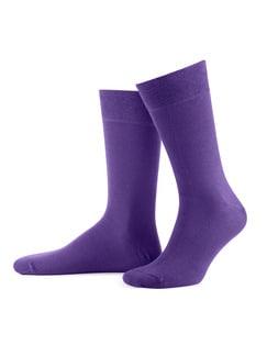 Socke Gold Collection Einzelpack Purple Detail 1