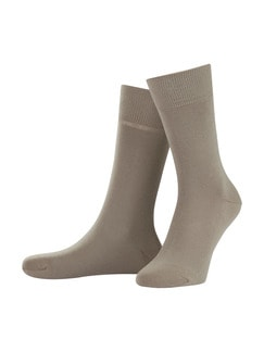 Freizeitsocke Soft-Cotton 2er-Pack Natur Detail 1