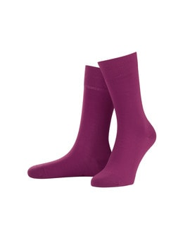 Freizeitsocke Soft-Cotton 2er-Pack Fuchsia Detail 1