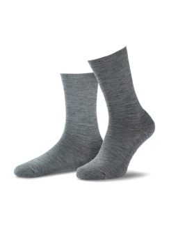 Thermosoft-Socke 2er-Pack Mittelgrau Detail 1
