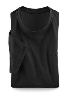 Klepper Funktions T-Shirt Schwarz Detail 1