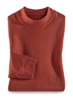 Langarm-Shirt Stehkragen Terra Detail 1