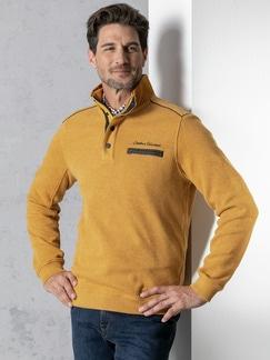 Wohlfühl-Pullover Softrib Safran Detail 2