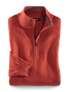 Troyer Cashmere Touch Rost Detail 1