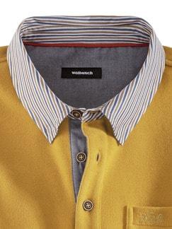 Hemd-Pullover 2 in 1 Safran Detail 3