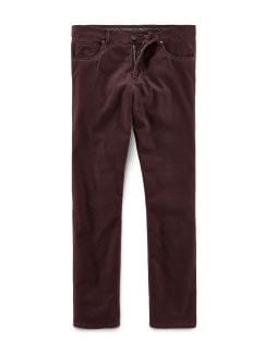 Extraglatt Thermo Five Pocket Bordeaux Detail 1