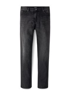 Bi-Stretch Five Pocket Black Detail 1