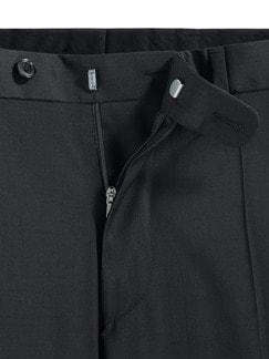 Naturstretch-Anzug-Hose Marine Detail 4