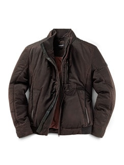 Thermo Blouson Black Covered Barolo Detail 1