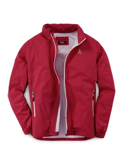 Pocket Regenjacke Rot Detail 1