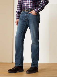 Husky Jeans Five-Pocket Dark Stone Detail 2