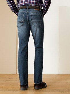 Husky Jeans Five-Pocket Dark Stone Detail 4