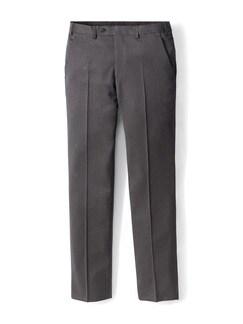 Nadelstreifen Anzug-Hose Anthrazit Detail 1