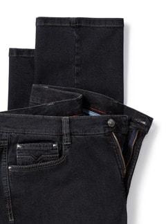 Extraglatt Flex Jeans Modern Fit Black Detail 4