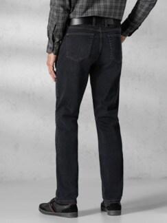 Extraglatt Flex Jeans Modern Fit Black Detail 3