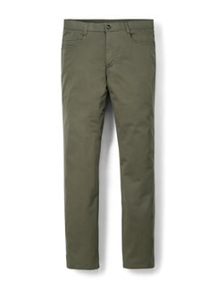 T400 Easycare Five Pocket Khaki Detail 1
