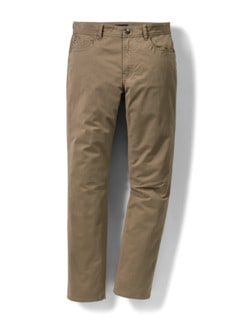 Extraglatt-Thermo Five-Pocket Beige Detail 1