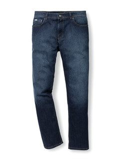 Thermolite Five Pocket Jeans Dark Blue Detail 1