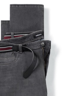 Gürtel-Jeans Modern Fit Grey Detail 4